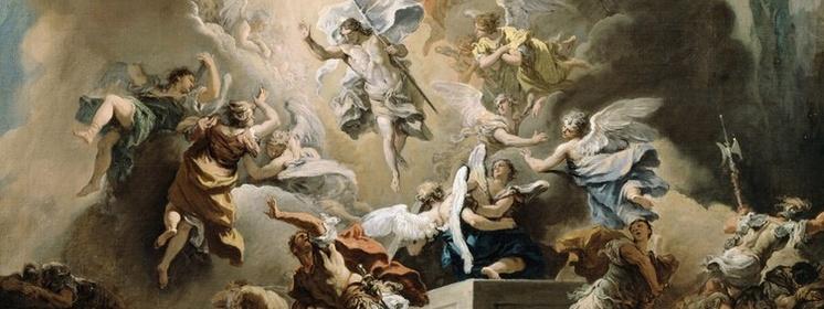 Chrystus zmartwychwstał ! Prawdziwie zmartwychwstał ! Alleluja !