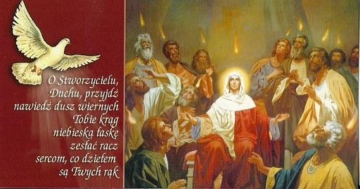 Ogłoszenia parafialne 31.05.2020 r.